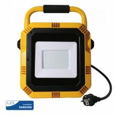 Projecteur de chantier LED 50W ultrafin