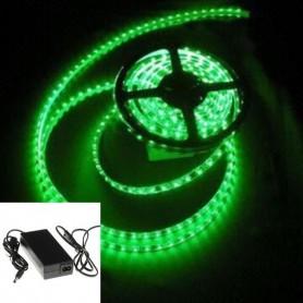 KIT ruban LED 12V 5050 VE - Vert