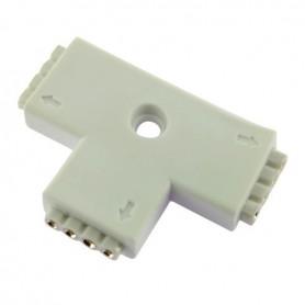 Connecteur multicouleur en T broche