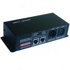 Contrôleur DMX 512 RGB 12A