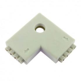 Connecteur multicouleur en L broche