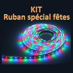 KIT ruban LED RGB 3528