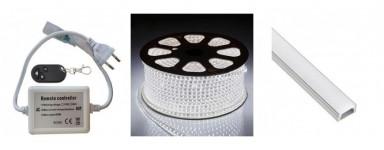 Ruban LED 230V monocouleur