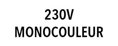 Projecteur 230V monocouleur