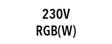Projecteur 230V RGB(W)