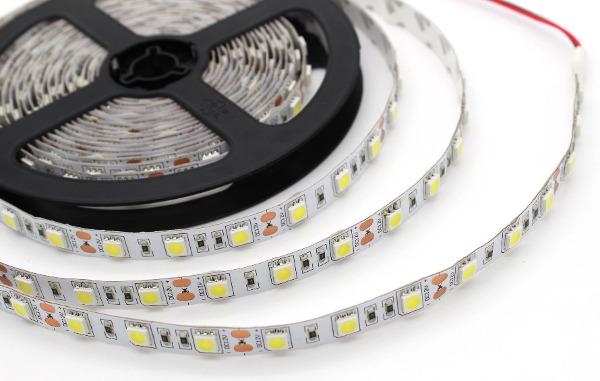 ruban LED monocouleur 5050 60 LED / mètre