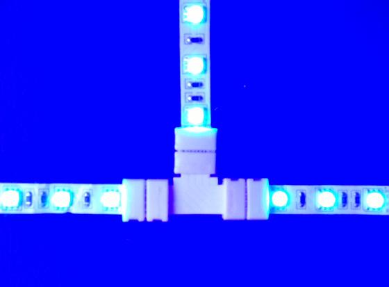 connecteur ruban LED en T