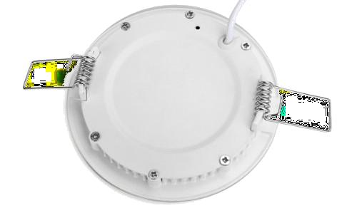 fixation panneau LED rond