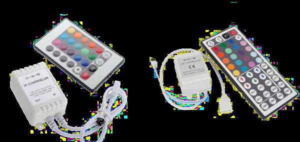 télécommande et contrôleur RGB