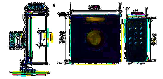 dimensions du variateur mural 230V